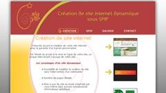 Créacyte - création de sites web sous SPIP