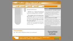 Creation de sites internet